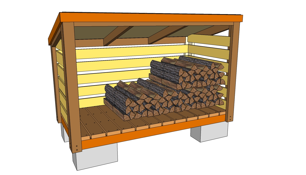 10 Wood Shed Plans To Keep Firewood Dry