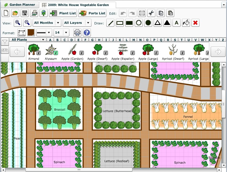 7 Vegetable Garden Planner Software For Better Gardening ... on Backyard Layout Planner  id=29400