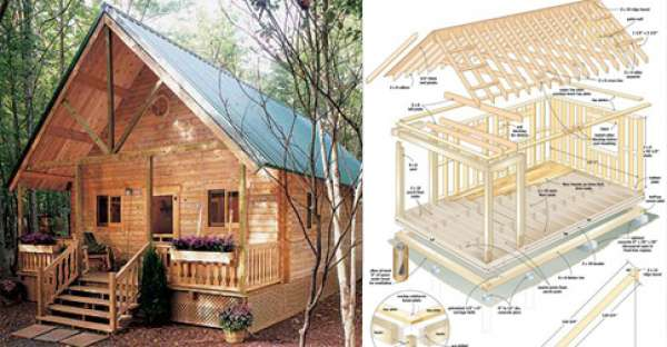 Build Your Own Log Cabin Cheap