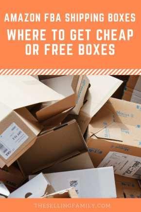 Boîtes d'expédition Amazon FBA: Où trouver des boîtes gratuites ou bon marché