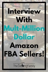 Entretien avec des vendeurs FBA Amazon de plusieurs millions de dollars!