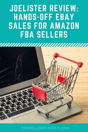 JoeLister Review - Ventes eBay sans contact pour les vendeurs Amazon FBA