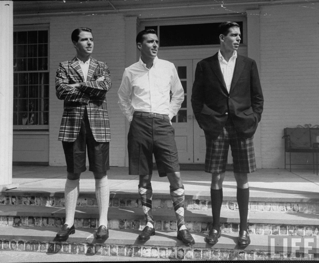 menswear bermuda shorts jacket