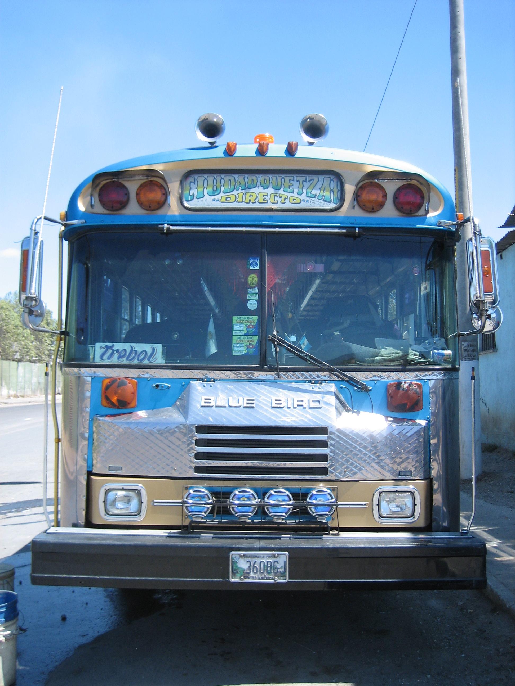 Guatemal City bus