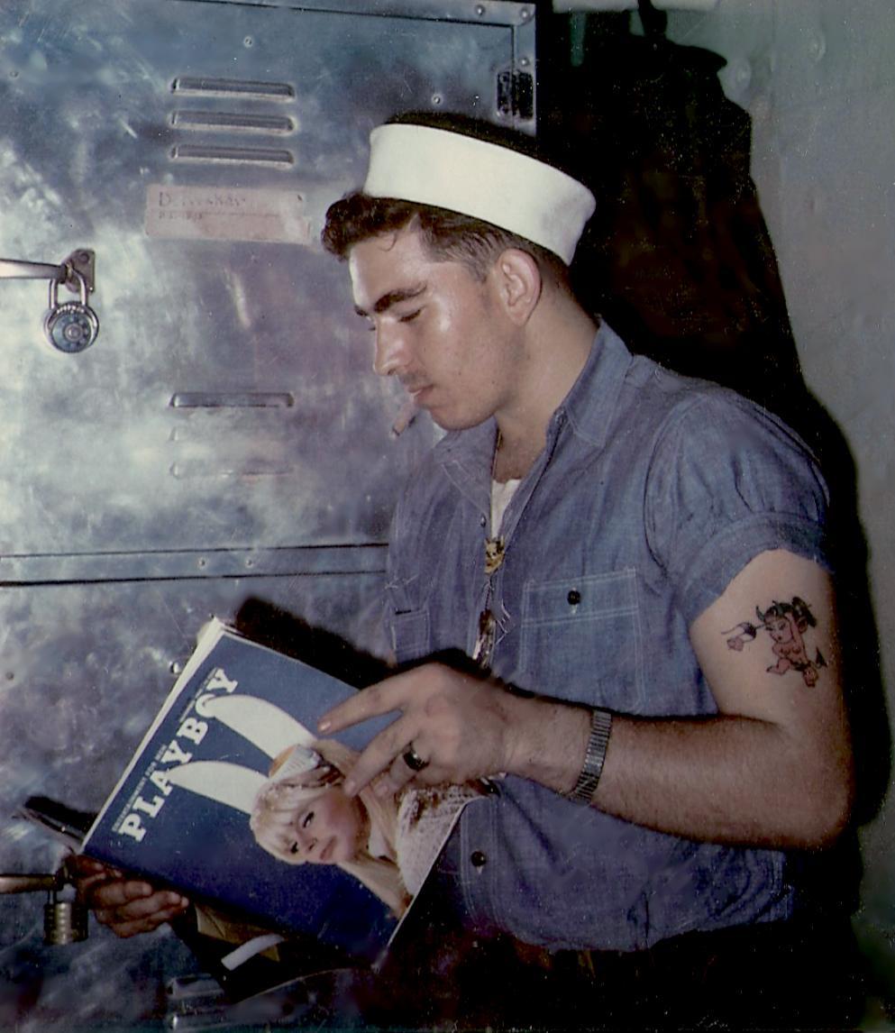 Vintage Playboy Sailor