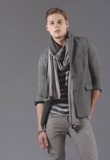 menswear fashion scarf