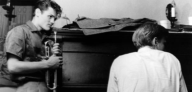 """Chet Baker in a shot from Bruce Weber's book """"Let's Get Lost"""""""