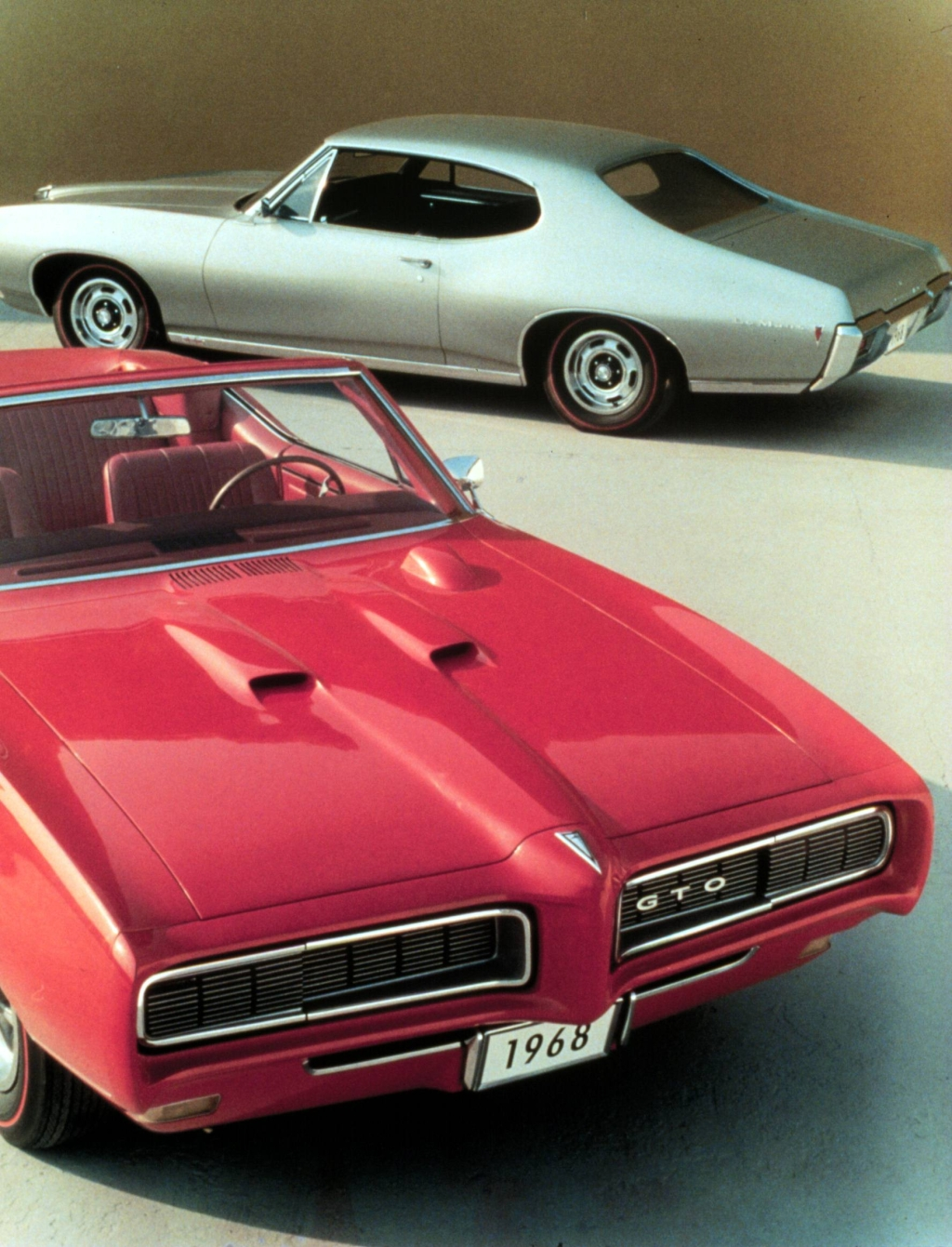muscle cars history the Pontiac GTO