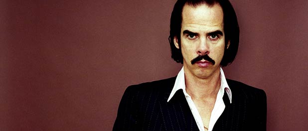 Nick Cave giving a 1970 Esquire cover flashback