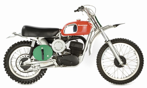 "1970 Husqvarna 250 eight-speed, just like the one ridden by Malcolm Smith in""On Any Sunday"".  ""The Husky 250 eight-speed was just a really easy bike to ride,"" Smith recalls. ""It wasn't super powerful, but on the fast roads of Elsinore, I could go over 100 mph. And because of the eight-speed gearbox, I could easily negotiate the tight stuff."""