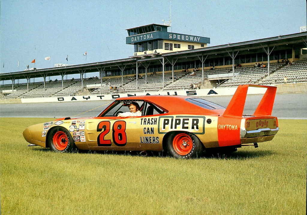 Fred Lorenzen's 1969 Dodge Daytona Charger race car.