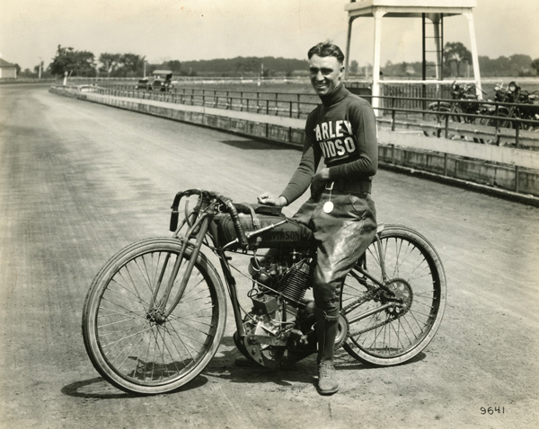 An early Class A racing champion, Jim Davis was one of the few who won titles under the banner of the predecessors to the American Motorcyclist Association, the Federation of American Motorcyclists (FAM) and the Motorcycle and Allied Trades Association (M&ATA). He excelled in board-track racing and on dirt ovals. Davis also won the very first national race sanctioned by the AMA, the 25-mile AMA National Championship held on a one-mile dirt oval in Toledo, Ohio, on July 26, 1924.