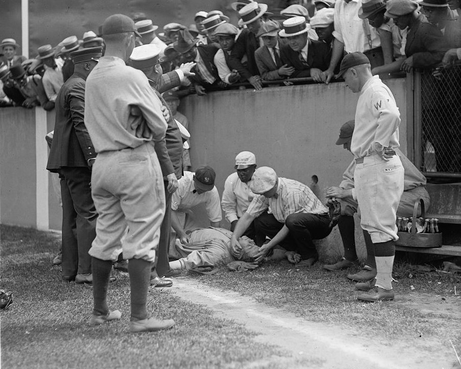 (Babe) Ruth Knocked Out