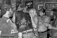 PULSATING PAULA DAYTONA BEACH BIKE WEEK BIKER BAR BABE MC 1980S