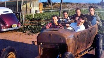 A ORIGINAL OILERS CAR CLUB CC PHOTO 1940S 1950S