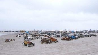 A TROG THE RACE OF GENTLEMEN WILDWOOD NJ VINTAGE HOT ROD BEACH RACE PHOTO
