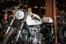 THE HANDBUILT SHOW AUSTIN MOTORCYCLE STEVE WEST THE SELVEDGE YARD HONDA OTHER LIFE MOTORCYCLES