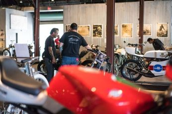 THE HANDBUILT SHOW BIKES AUSTIN MOTORCYCLE STEVE WEST THE SELVEDGE YARD