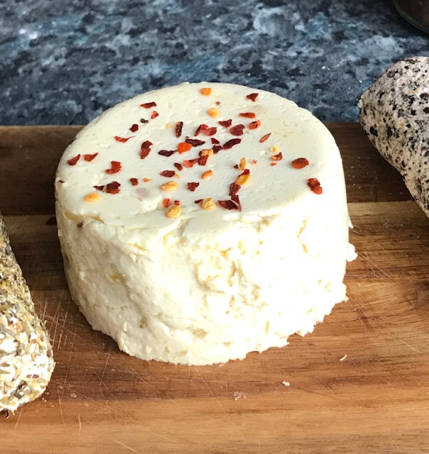 Homemade dairy-free 'cheese'
