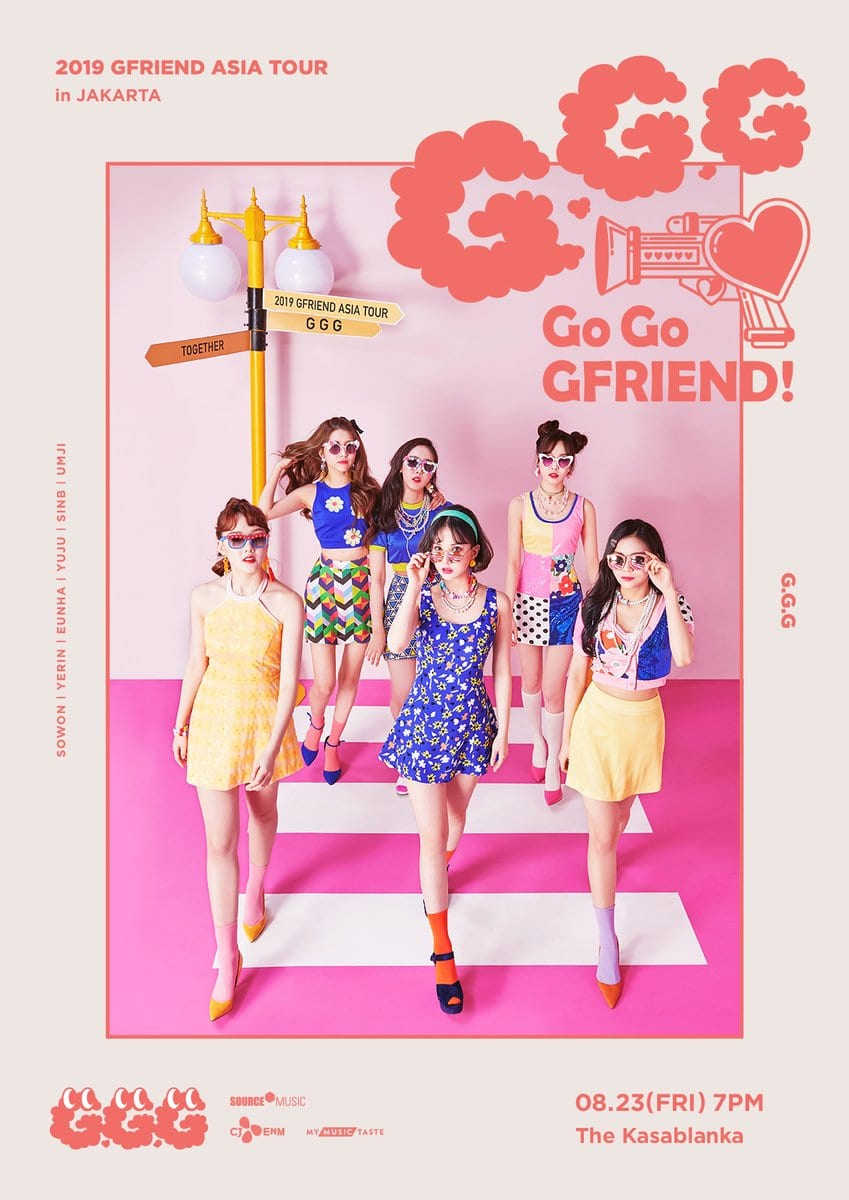 UPCOMING EVENT] GFRIEND 2019 Asia Tour – The Seoul Story