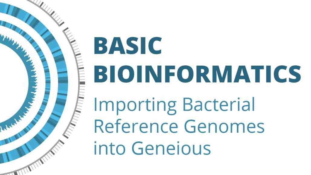 Basic Bioinformatics: Importing Bacterial Reference Genomes into Geneious