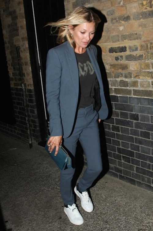 Kate Moss trainers suit