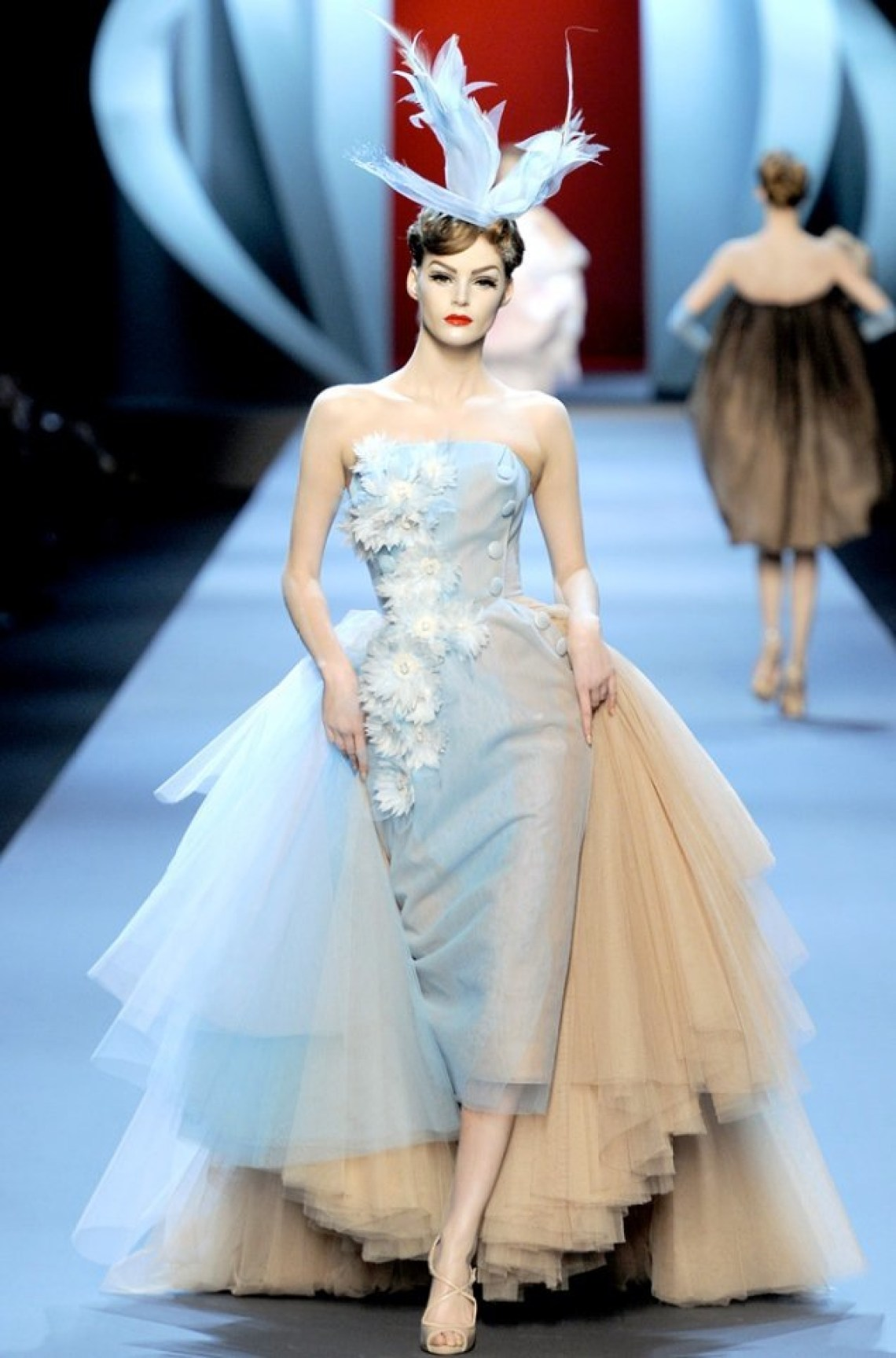 John Galliano Dior dress