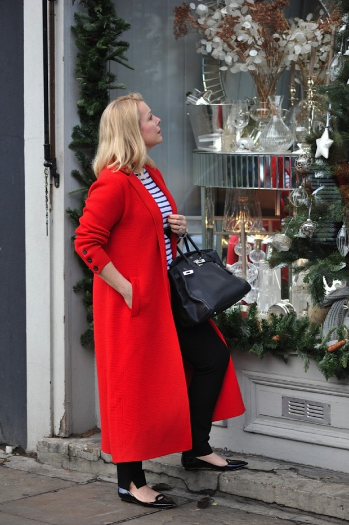 Winser London Hollywood Red coat