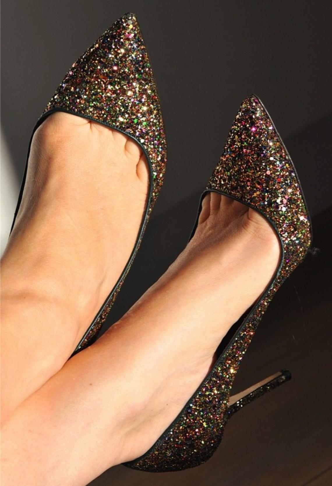 j crew glitter heels