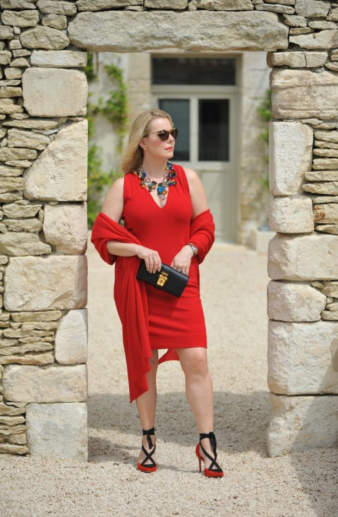 Winser London red dress