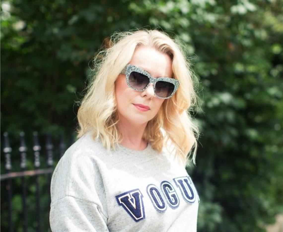 Vogue glitter sunnies