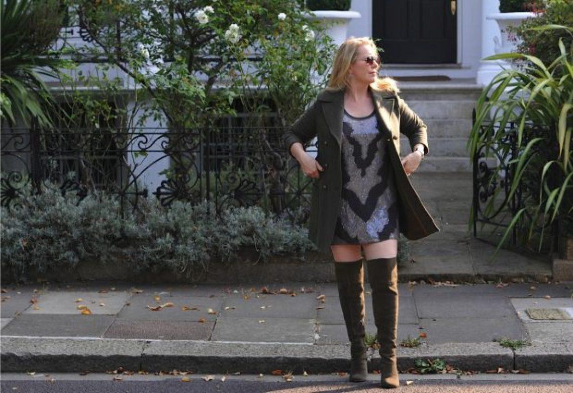 M&S coat, boots