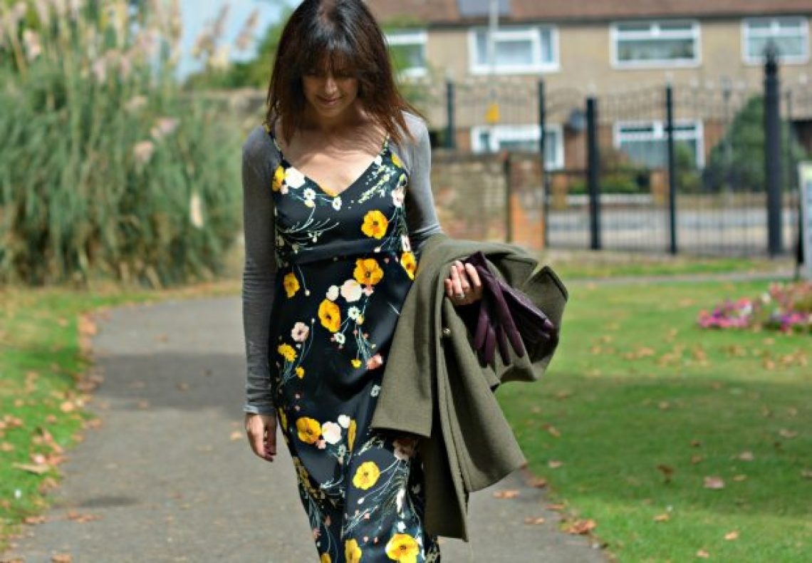 M&S slip dress