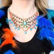 Turquoise crystal colours