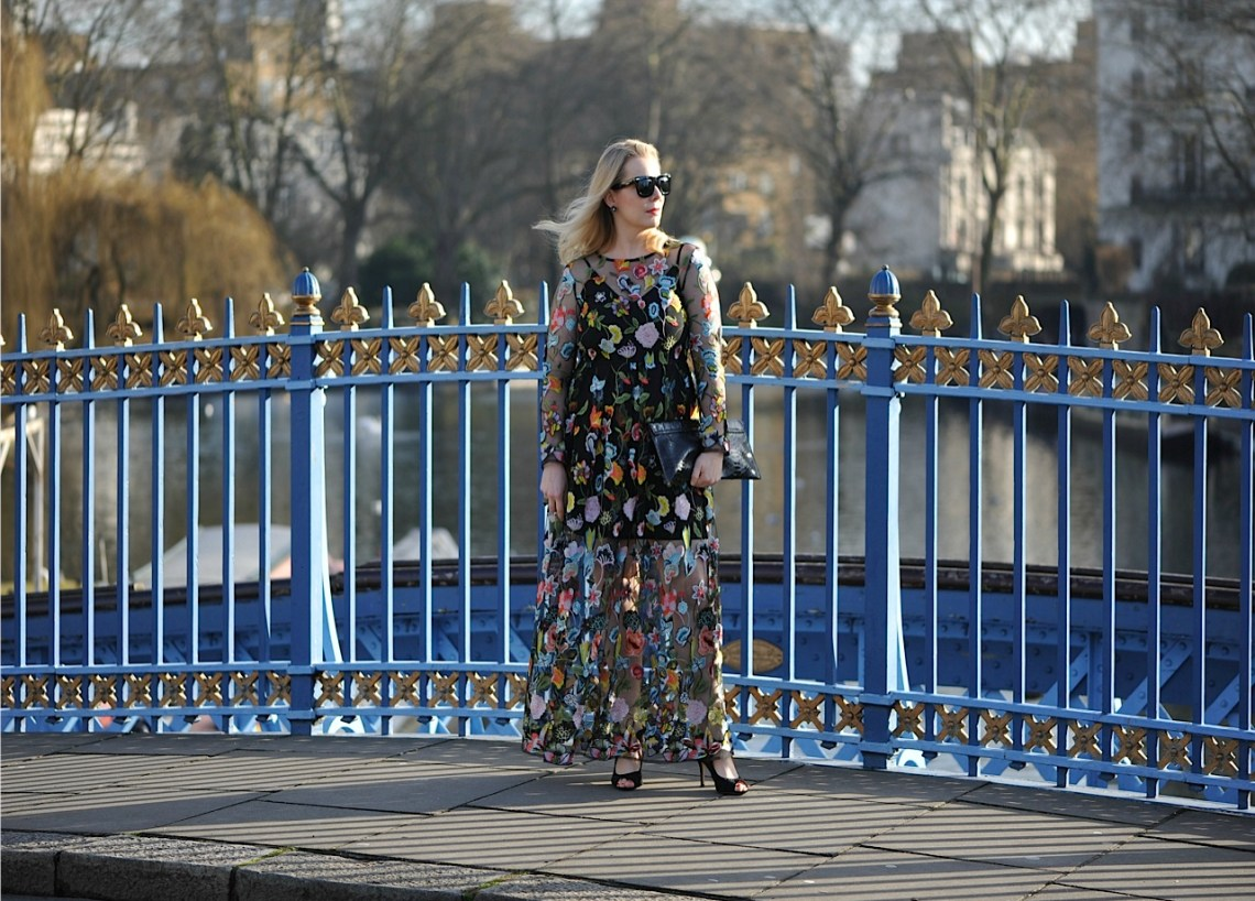 Floral ASOS dress intro photo