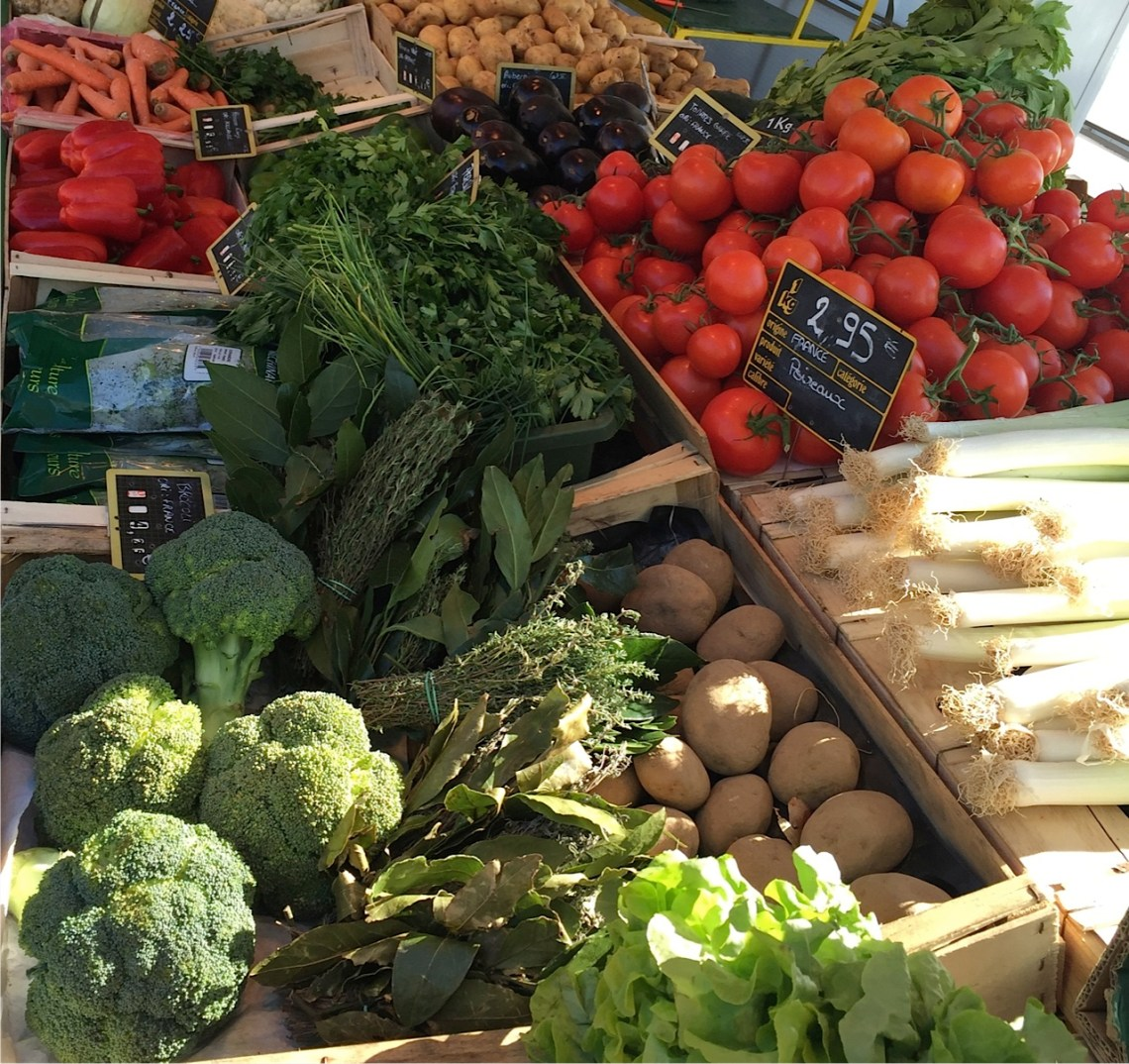 French Market Produce