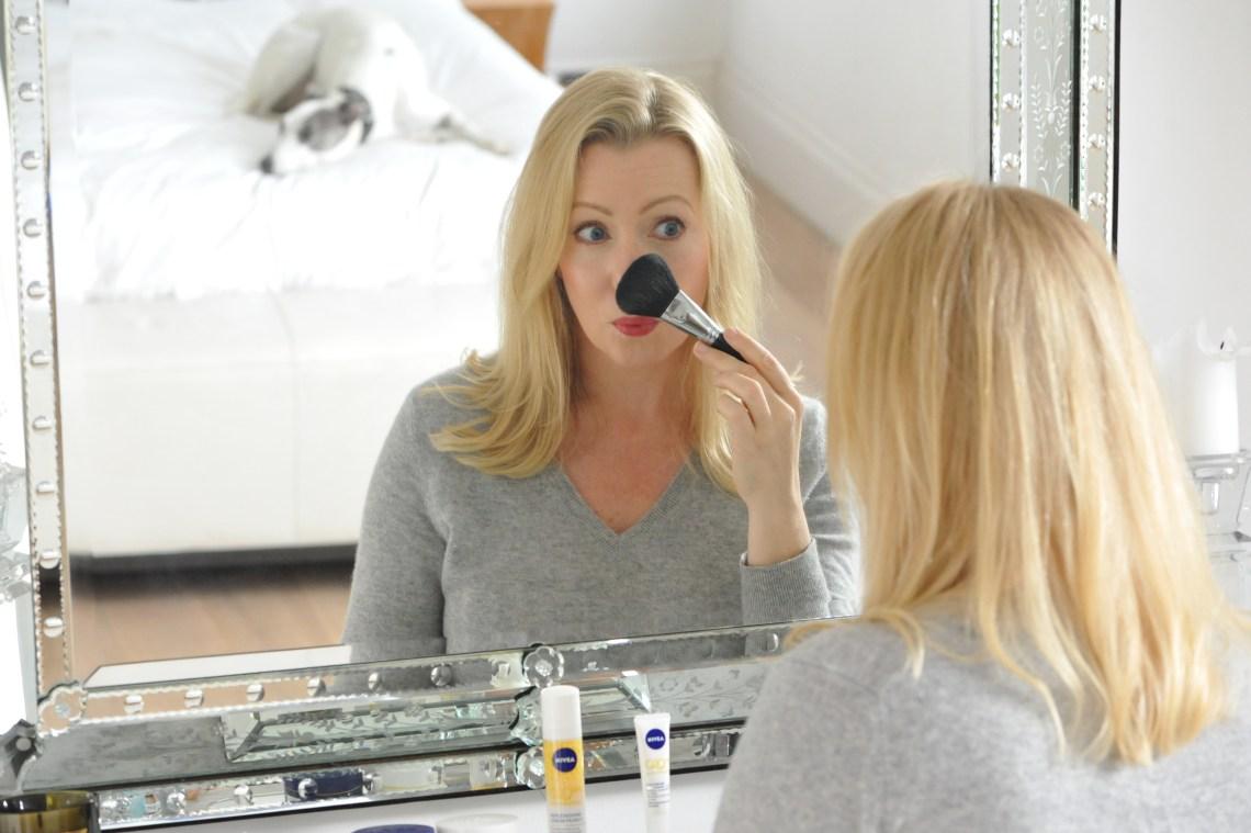 Makeup and NIVEA
