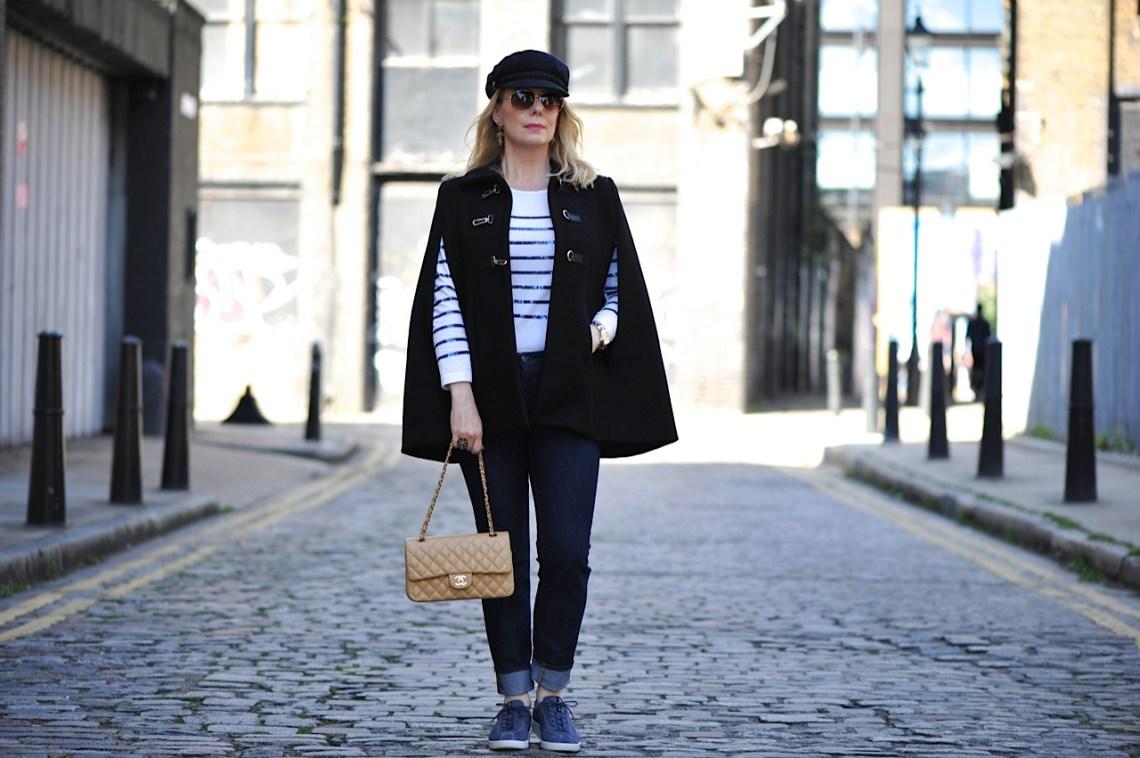 Ecco Chanel cape and cobbles