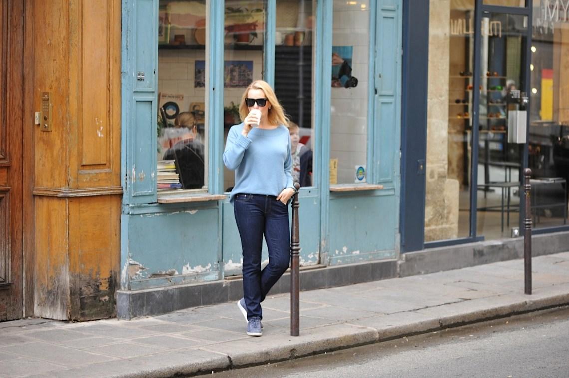 Duck Egg Blue sweater Winser London