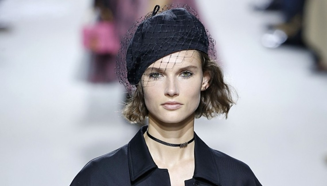 Dior Veiled Beret