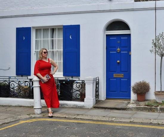 JD Williams Occasion Wear Red Maxi Dress