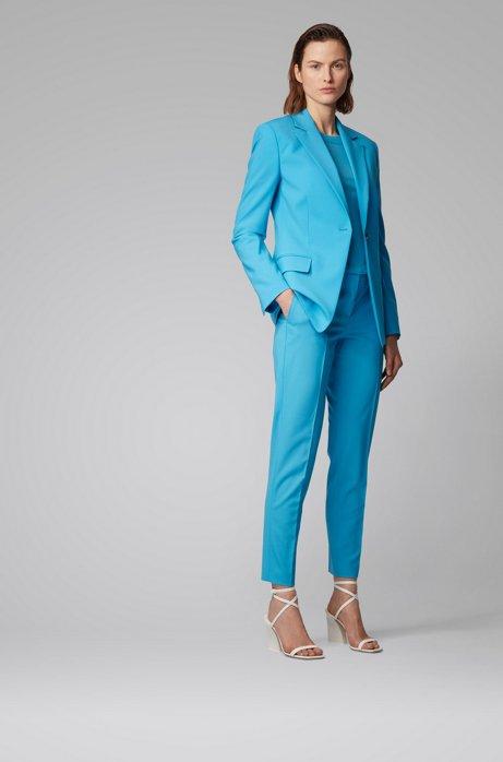 Turquoise Hugo Boss Trouser suit