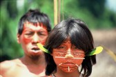One of many tribes in the Amazon Rainforest