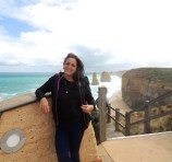 Lisa Vecchio at Twelve Apostles