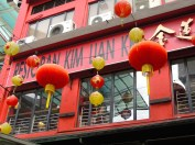 Chinatown eatery with air conditioning