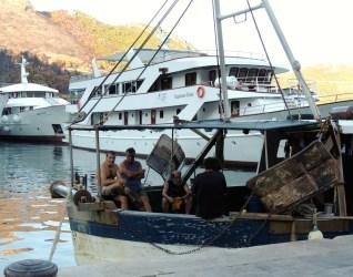 Trstenik local fishermen