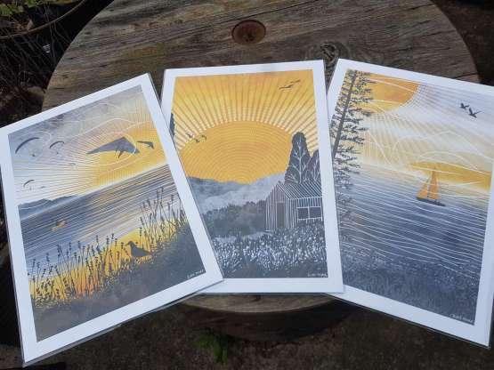 Ruth Thorp Journey Prints