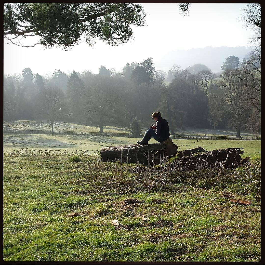 Alice Draws The Line Sketching in Shropshire