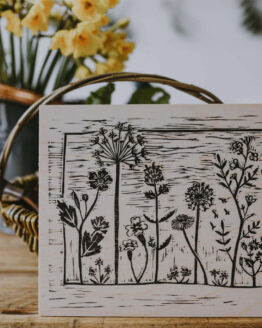 wooden wildflower print_noprice