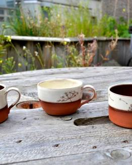 Wendy Calder Ceramic Coffee Cups
